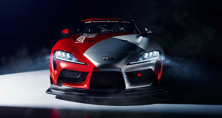 The Toyota GR Supra GT4 Concept 2