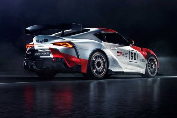 The Toyota GR Supra GT4 Concept feature