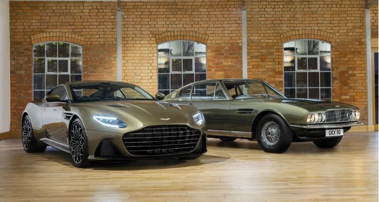 Aston Martin ohms side