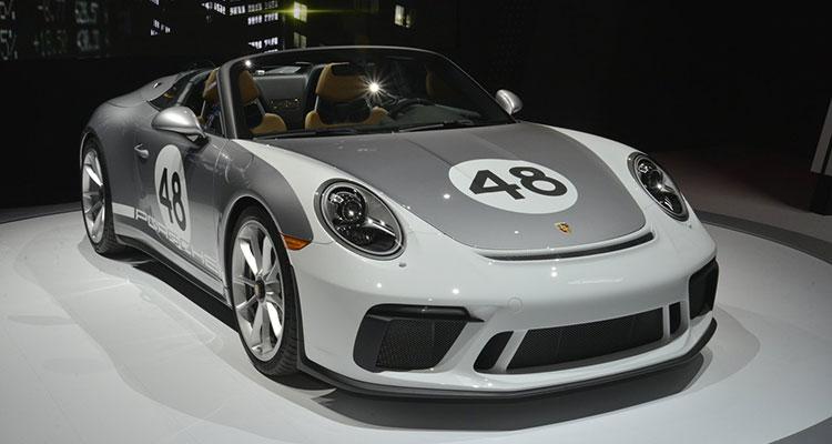 Porsche 911 Speedster 991 heritage pack