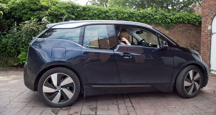 BMW i3 Interior with Lucy 2jpg