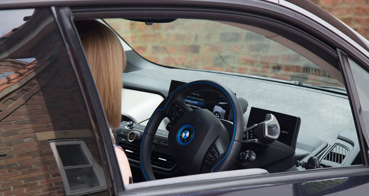 BMW i3 Interior with Lucy