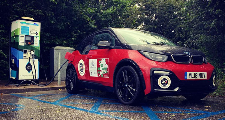 Are we there yet mum - BMW i3s charging