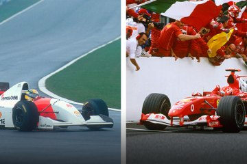 Ayrton Senna vs Micheal Schumacher (feature)