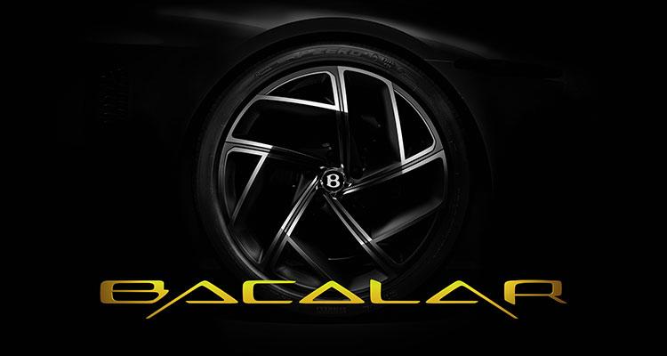 Limited Edition Bentley Bacalar