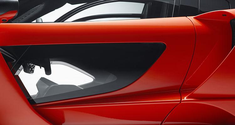 McLaren Senna - door handle