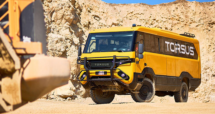 Torsus Praetorian Off-Road 4x4 Wilderness Bus