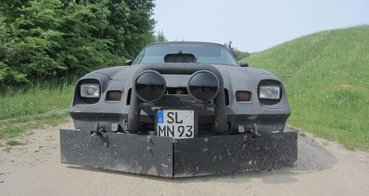 Chevy Camaro Ghost Car