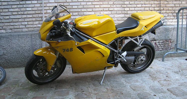 Ducati 748 - Gordan Ramsay