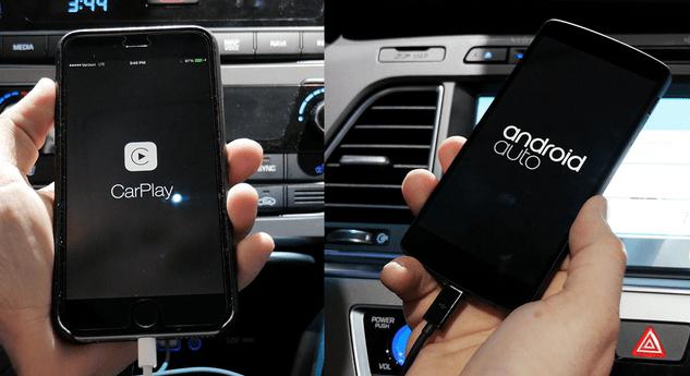 CarPlay y Android Auto para nuestro vehículo