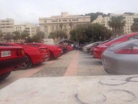 Ferraris y Porsche de todo tipo han acudido al evento