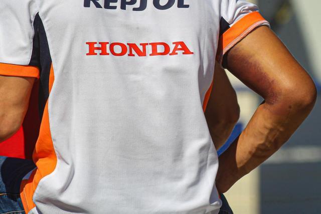 Marc Márquez en el intento de estar en el Gran Premio de Andalucía