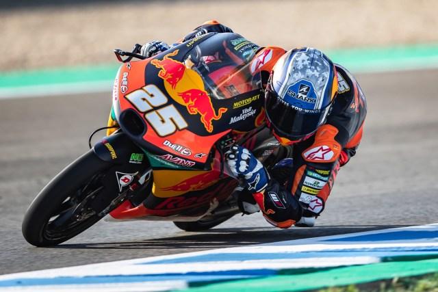 Raúl Fernandez consigue la pole de Moto3 en el GP de Emilia Romagna