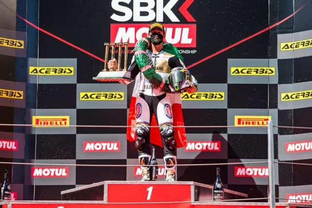 Andrea Locatelli, Campeón del Mundo de Supersport