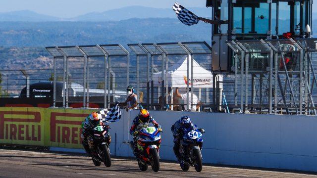 Víctor Rodriguez vence la carrera de Superport 300 en Motorland