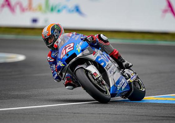 Álex Rins en Le Mans