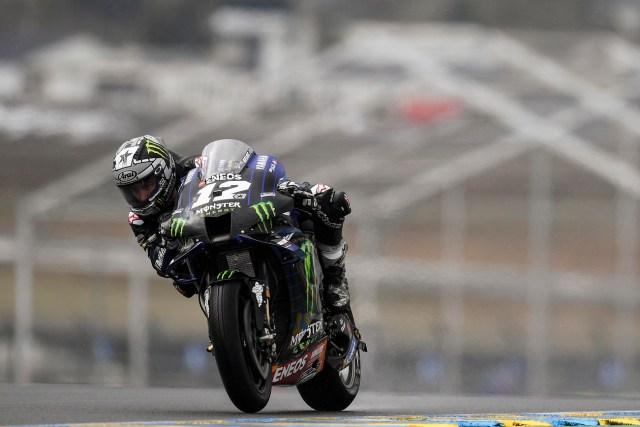 Maverick Viñales en Le Mans
