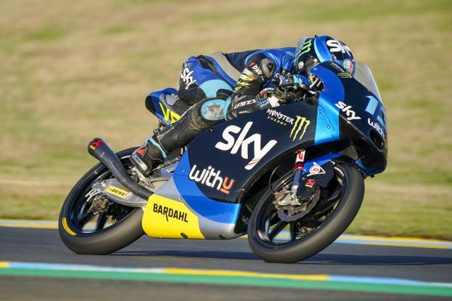 Celestino Vietti gana la carrera del Gran Premio de Francia