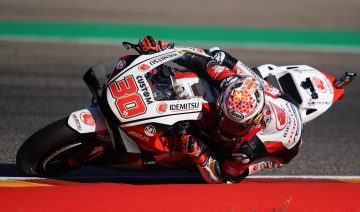 Takaaki Nakagami da una alegría a Honda y consigue la primera pole de su vida en MotoGP