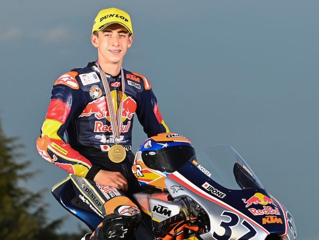 Pedro Acosta Red Bull Rookies Cup 2019