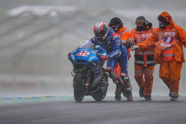 Alex Rins 2021 GP Francia