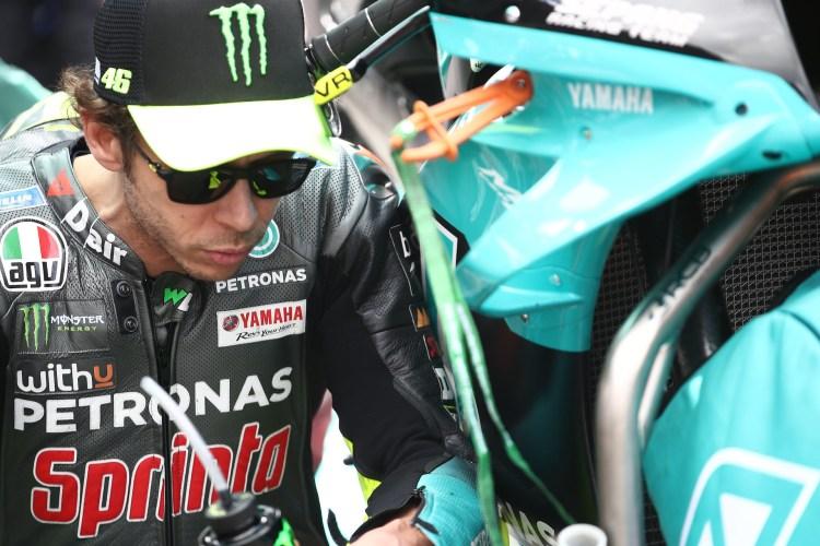 Valentino Rossi 2021 focus