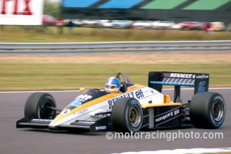 1985 British GP Derek Warwick Renault RE60B