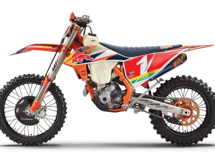 Veja a edicao ESPECIAL da KTM 350 XC-F Kailub Russell 2021