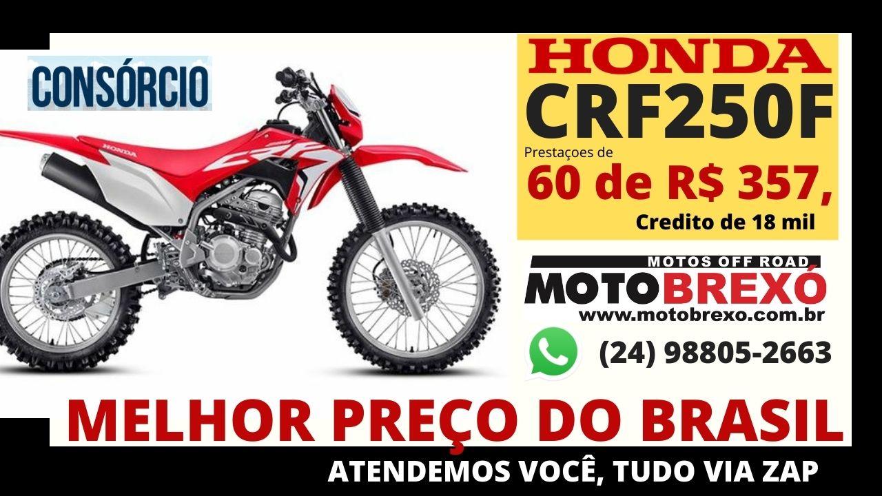Consorcio para Honda CRF 230 e 250f, MELHORES TAXAS