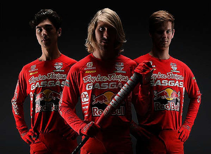 Formada EQUIPE Troy Lee Designs / Red Bull / GASGAS Factory Racing