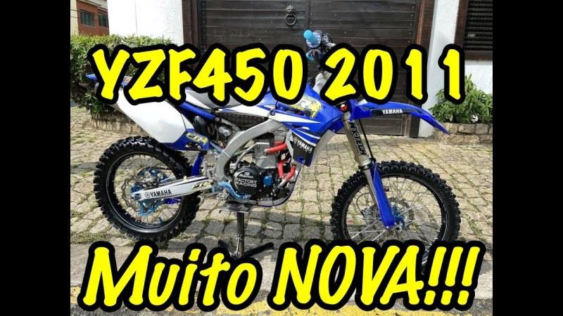 Video, Conheça a YZF 450 2011 mais equipada do Brasil!