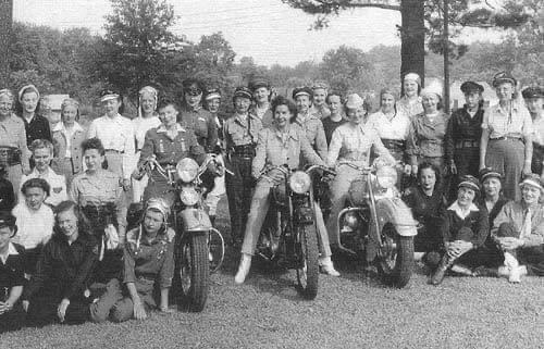 Vocês sabia que o moto clube mais antigo do mundo foi fundado por MULHERES?