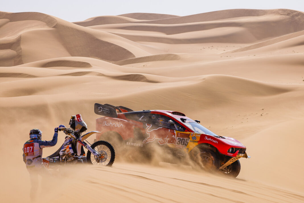 Video, Rally Dakar 2021, Dia 4