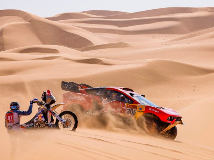 Video, Rally Dakar 2021, Dia 4