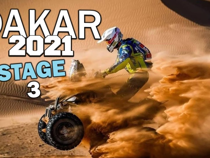 Video, Dakar 2021, Dia3