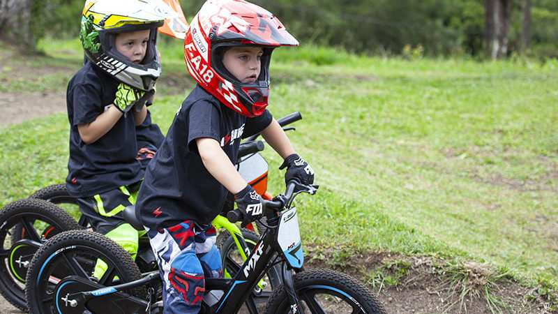 Totalmente diferentes, as bicicletas voltam a ser um desejo entre as crianças.