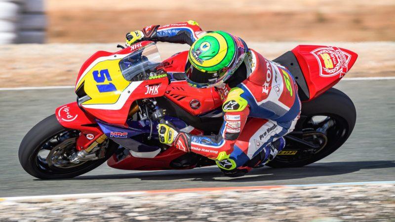 Eric Granado inicia treinos para o Campeonato Espanhol de Superbike