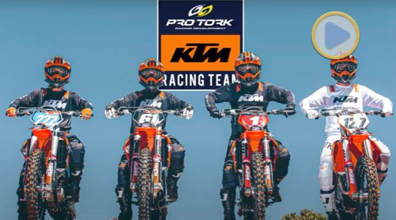 Video, Team Pro Tork KTM