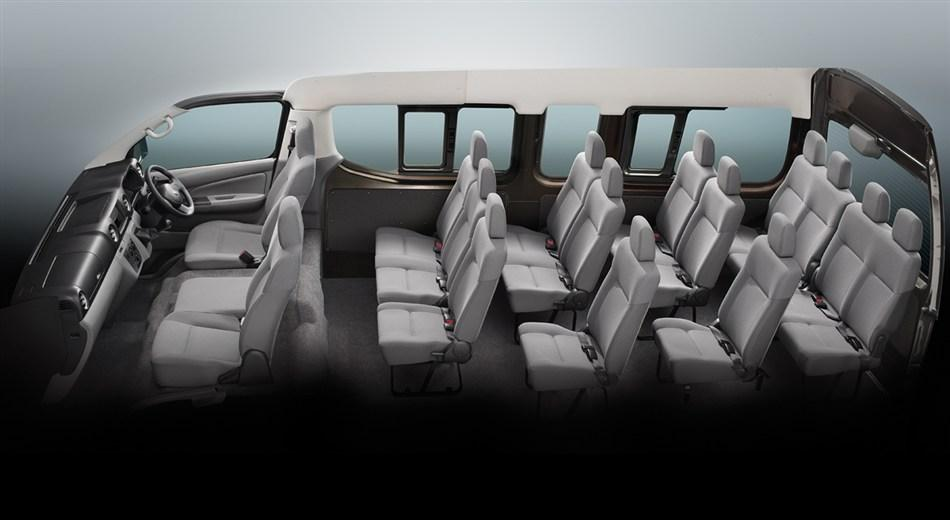 Tata Winger Interior 10 Seater