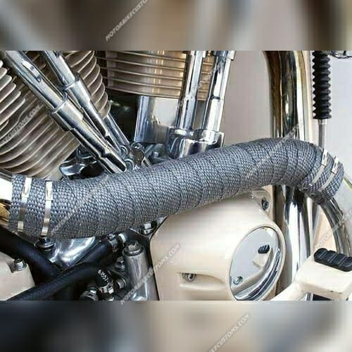 silencer exhaust wrap for motorbikes