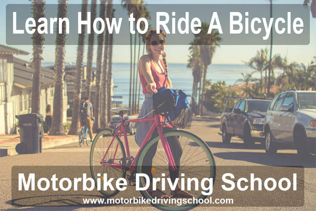 learn how to ride a bicycle