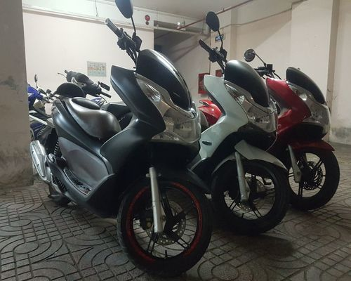 Honda PCX rental service Mui Ne