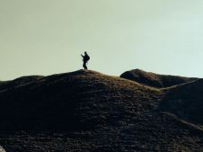 Me on a hill ..