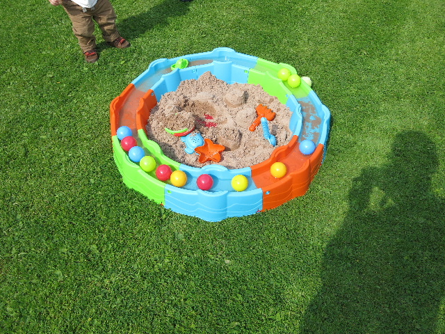 New sand pit