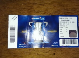 another wembley trip