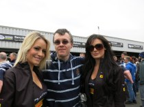 Andy and the girls