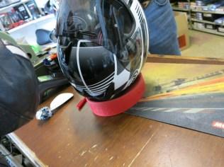 Helmet repair