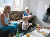 Pat, Daniel, Emma and my Mum