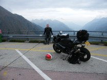 On the Gothard Pass