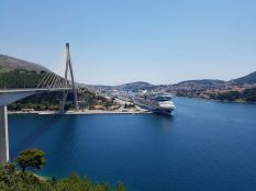 towards Dubrovnic